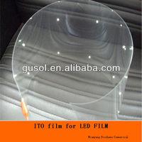 ITO PET film ,ITO film transparent busbar,transparent electrodes