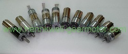 Spur Gearbox high torque low rpm micro geared 12v dc electric motor