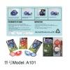 2014 Hot Sale Golf Ball Liner Marker New Design Golf Accessory Munufacturer Warehouse Golf Ball Liner Marker With Pen