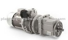 Mechanical variators and helical gearboxes CMGV