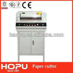 Electric digital paper cutter guillotine /program paper cutting machine