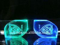 precious crystal ,crystal promotion gift ,crystal Christmas gift custom 3d keychains