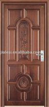 Customized Entry Bedroom Mahogany Solid Wood Door