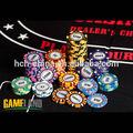 14 gramm monte carlo ton poker-chip, 10 farben erhältlich