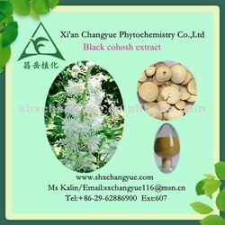 black cohosh extract powder/ black cohosh P.E.-2.5% 8% triterpene HPLC