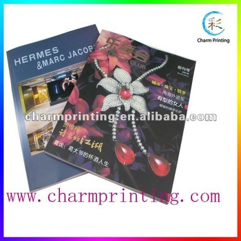 2013 fashion glossy magazine printing