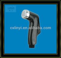 black cheap plastic bidet sprayer shower/toilet sprayer