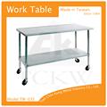 Estándar de trabajo mesa de la cocina/de acero inoxidable mesa de trabajo superior/casa mesa mesa de trabajo