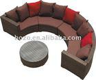 2014 Hot Exclusive Rattan Sectional Garden sofa rattan sofa furniture