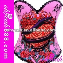 Top quality leather steel boned corsets
