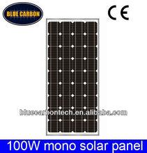 Good quality low price 100W mono solar panel