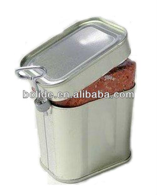 340 g enlatados condimentado carne HALAL