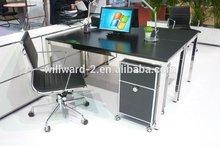 Transcube office table design stainless steel desk legs