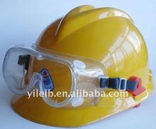 helmet safety goggles