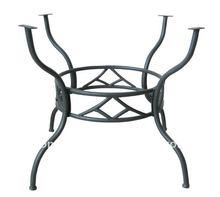 Outdoor Round Wrought Iron Table Base YB580703