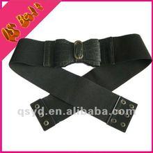 2014 fashion wide ladies elastic belts