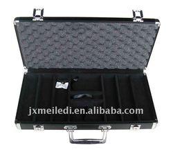 Special Purpose Bags & Cases black 300pcs aluminum abs poker chip case