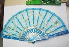 Exquisite Plastic Lace Hand Fan For Girl's Dancing Ball