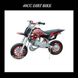 49cc mini dirt bike (red)