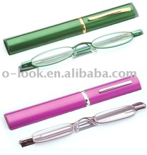 Slimline Reading Glasses with Aluminum Case