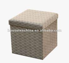well sale!!!foldable storage ottoman/pouffe