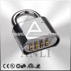 brass material ,zinc alloy combination padlock