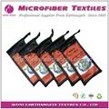 Baratos bolsas de bolsa, logotipo impreso de microfibra doble cordón bolsa de gafas