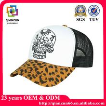 Fashion mesh foam snap back trucker caps and hats