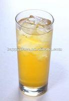 Natural fruit juice concentrate for fruity bubble tea
