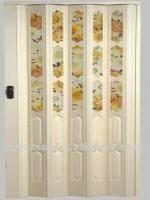 plastic accordion door/PVC folding door/kitchen room door