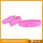 bulk cheap promotional bracelet usb flash drive