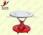 Modern glass top center table design furniture