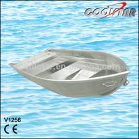1.2mm thickness V-bottom aluminium boat for fishing