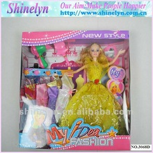 SLD-036 new design candy doll models for girl toy 2015top selling dream princess fashion gift sets