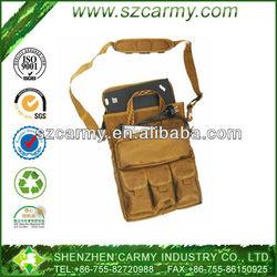 Tegin 1000D Cordura Khaki or Black Vertical Laptop Portable Satchel Messenger Bag