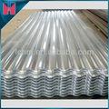 Hoja para techo corrugado de aluminio galvanizado