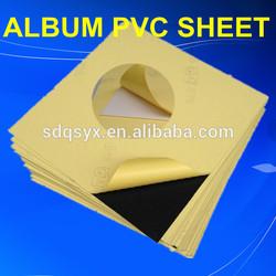 self-adhesive PVC sheet black for photo album Jinan Powerful