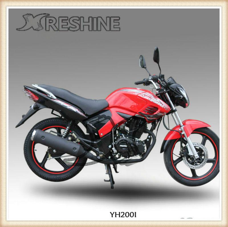 El modelo clásico popular reshine sport bike/200cc baratos de carreras de motos para la venta yh200i