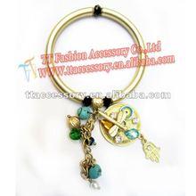 newest fashion matte gold jewelry