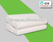 Contour Memory Foam Pillow with Luxury Velvet Fabric Pillow Case