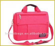 12''-15.6''!!!waterproof nylon computer bag laptop case with belt