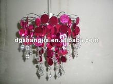Wedding Chandelier with PVC and Crystal Drop,Wedding Decoration Chandelier