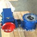 De control eléctrico de la válvula de bola con actuador para el agua, de aire, de gas, de ácido