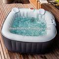Quadradoinflável whirlpool& princesa piscina