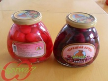 canned cherry in light syrup fresh