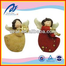 angel custom resin figure, handmade angel ornaments,angel figurine