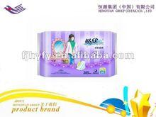 Brand sanitary napkins for import