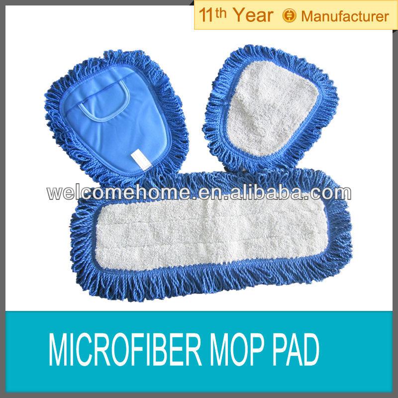 Microfiber Mop Pads Microfiber Dust Mop Pad With Fringe Duster Mop Pad