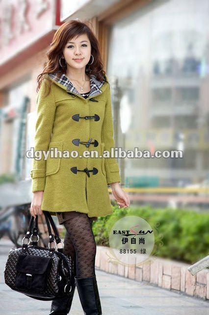 Hot vente moderne nouveau Style mode manteaux pour femmes