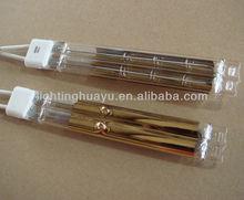 Gold Reflector Twin tube Quartz halogen heat lamp